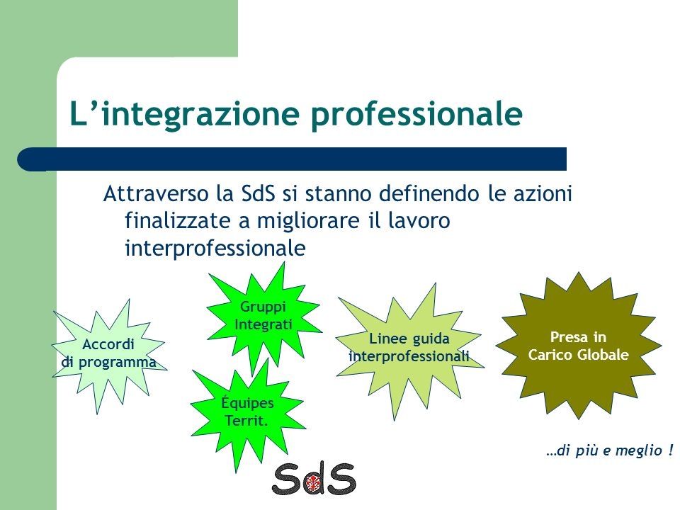 L'integrazione professionale