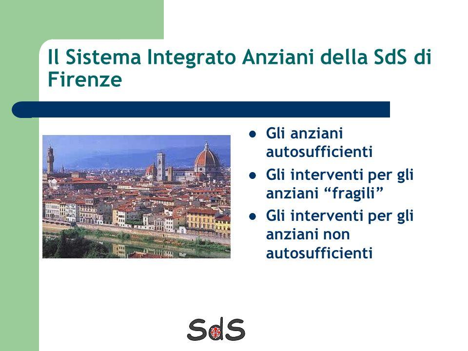 Il Sistema Integrato Anziani della SdS di Firenze
