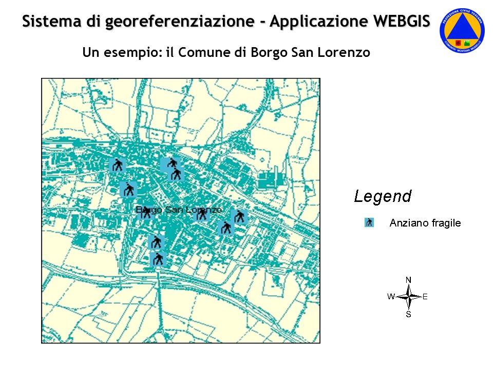 Sistema di georeferenziazione - Applicazione WEBGIS