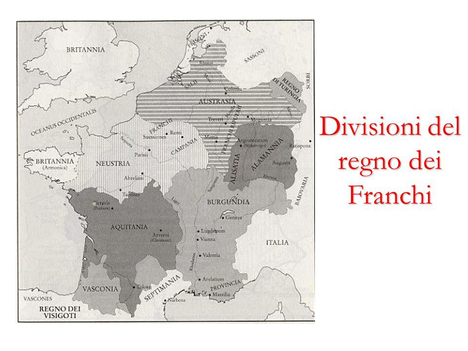 Divisioni del regno dei Franchi
