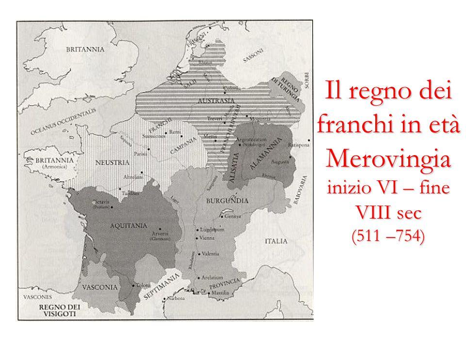 Il regno dei franchi in età Merovingia