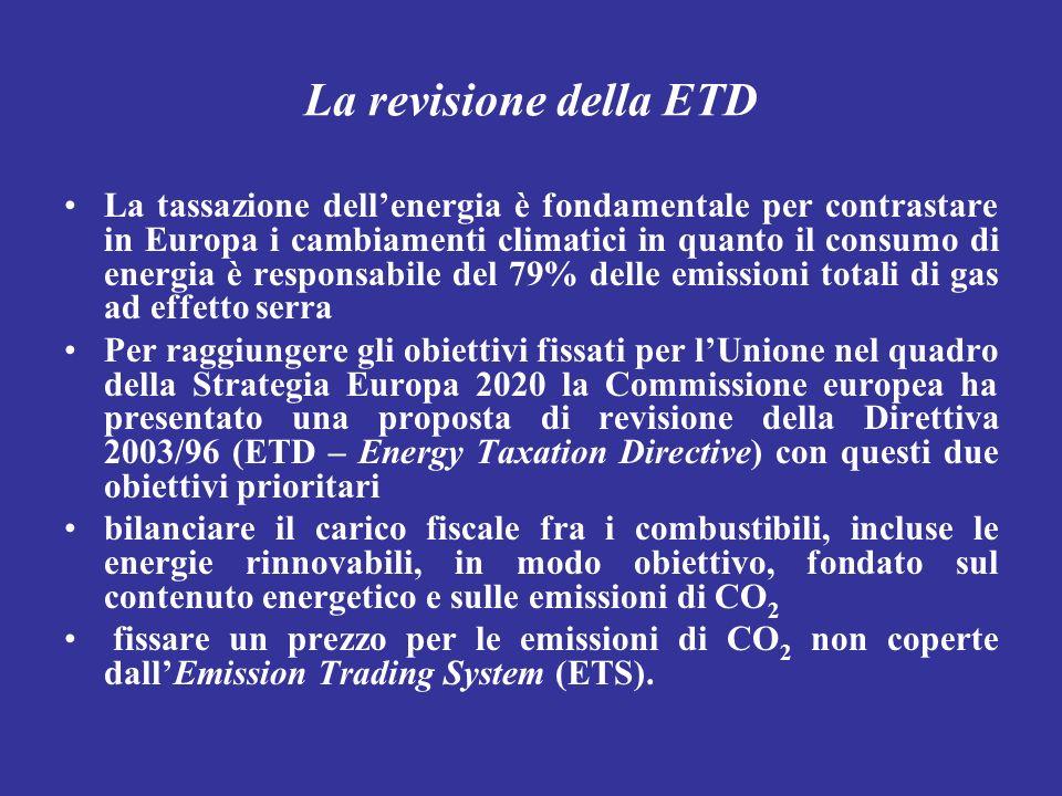 La revisione della ETD