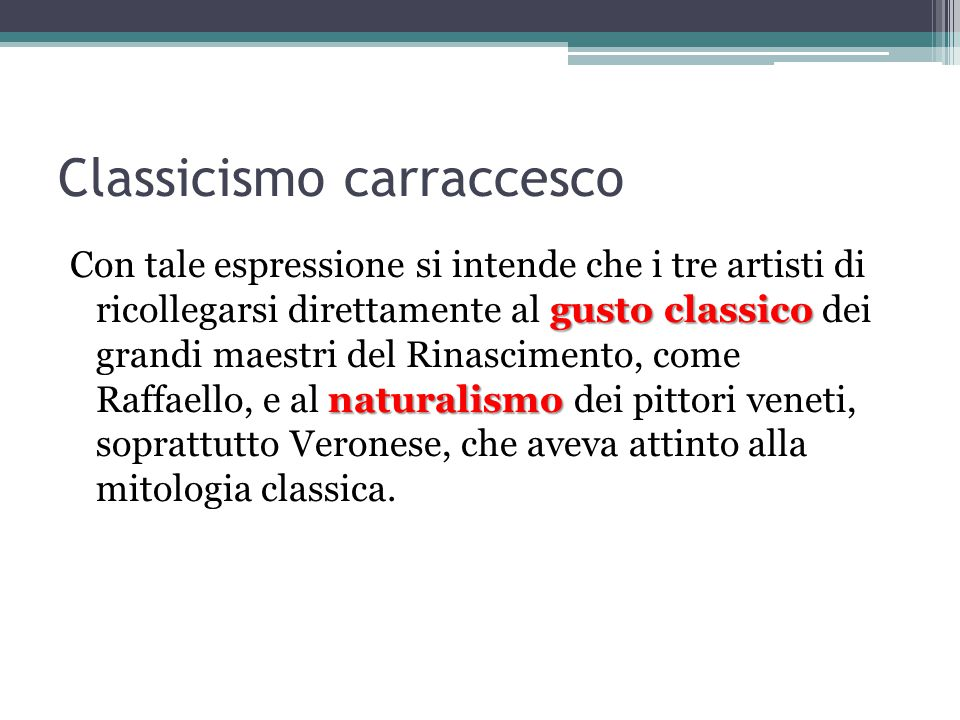 Classicismo carraccesco