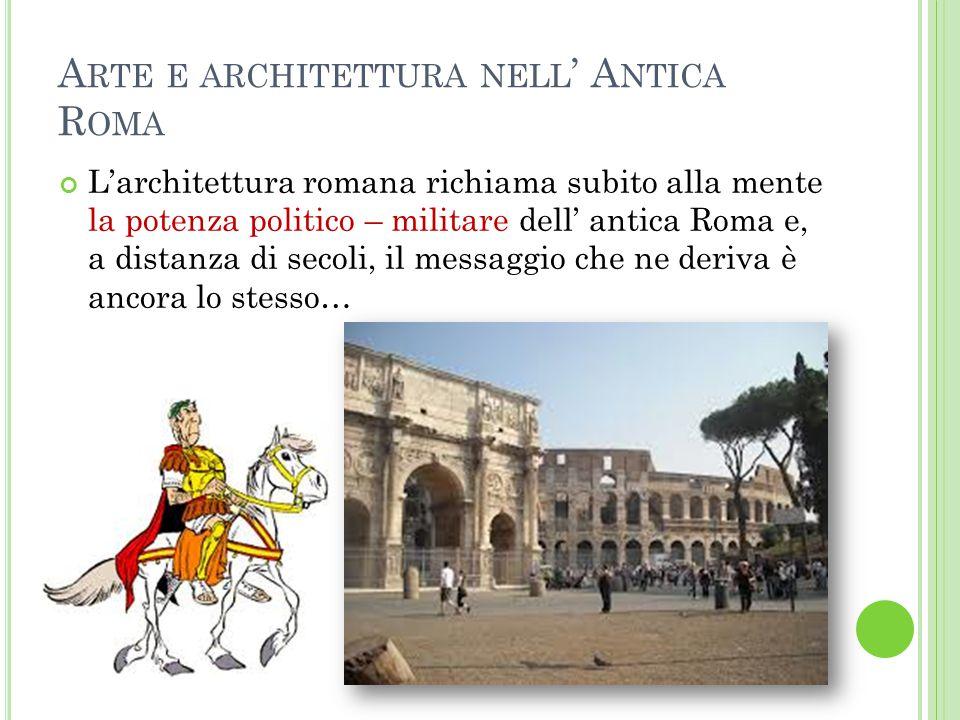 Arte e architettura nell' Antica Roma