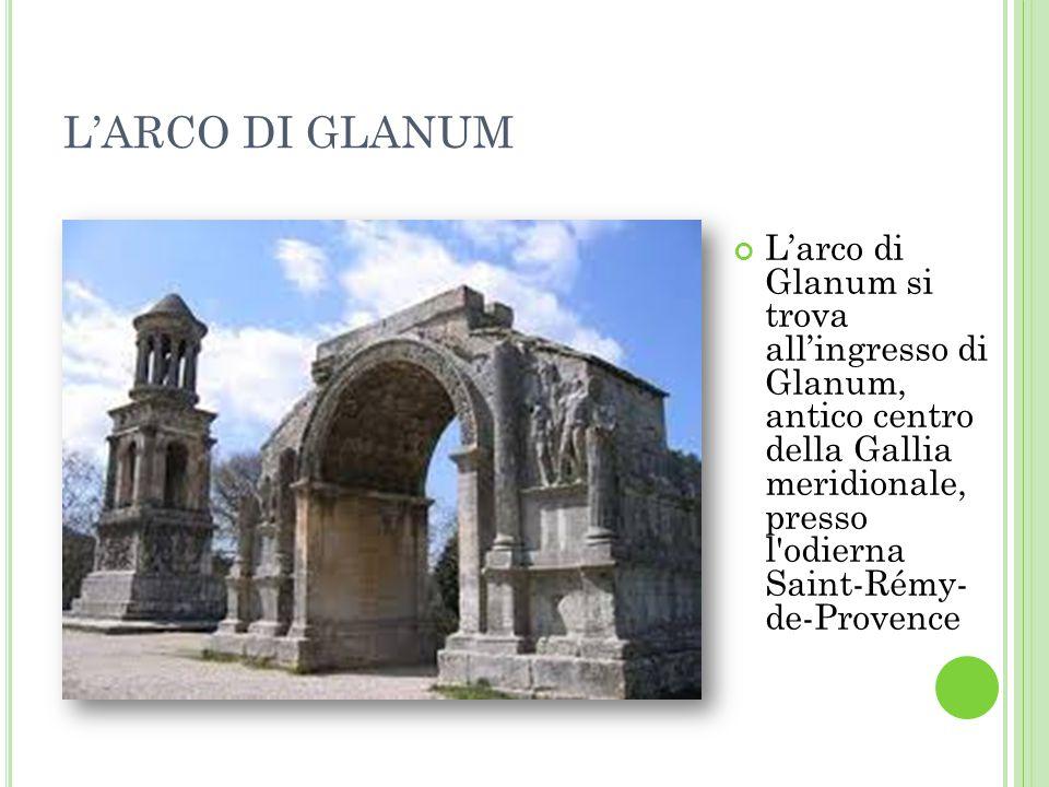 L'ARCO DI GLANUM
