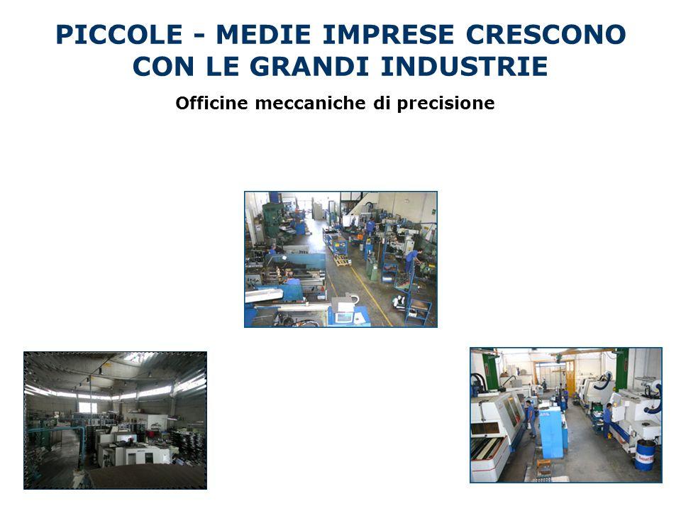 PICCOLE - MEDIE IMPRESE CRESCONO CON LE GRANDI INDUSTRIE