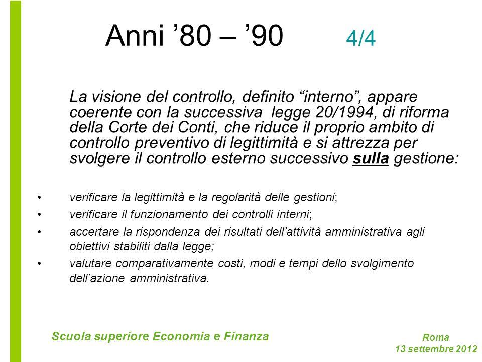 Anni '80 – '90 4/4