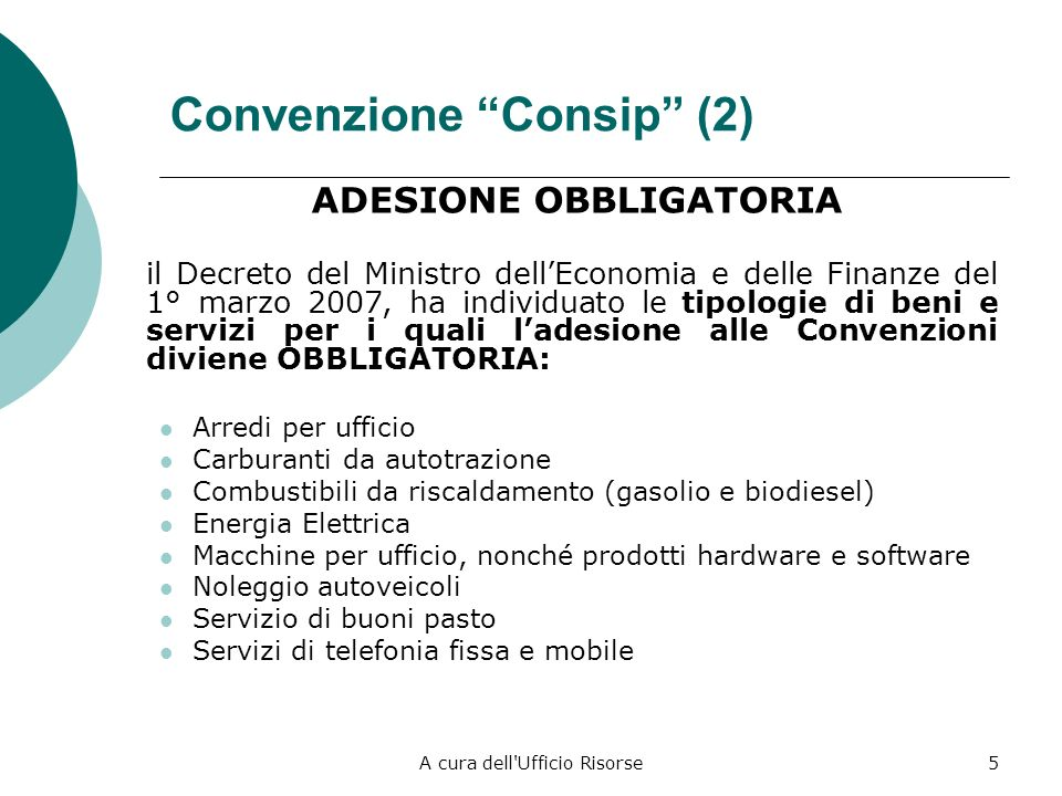 Convenzione Consip (2)