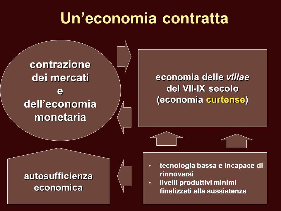 Un'economia contratta