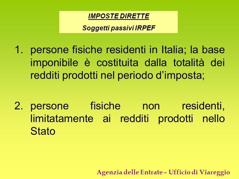 Soggetti passivi IRPEF