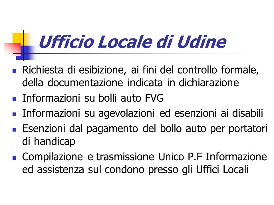 Ufficio Locale di Udine