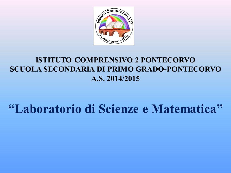 Laboratorio di Scienze e Matematica