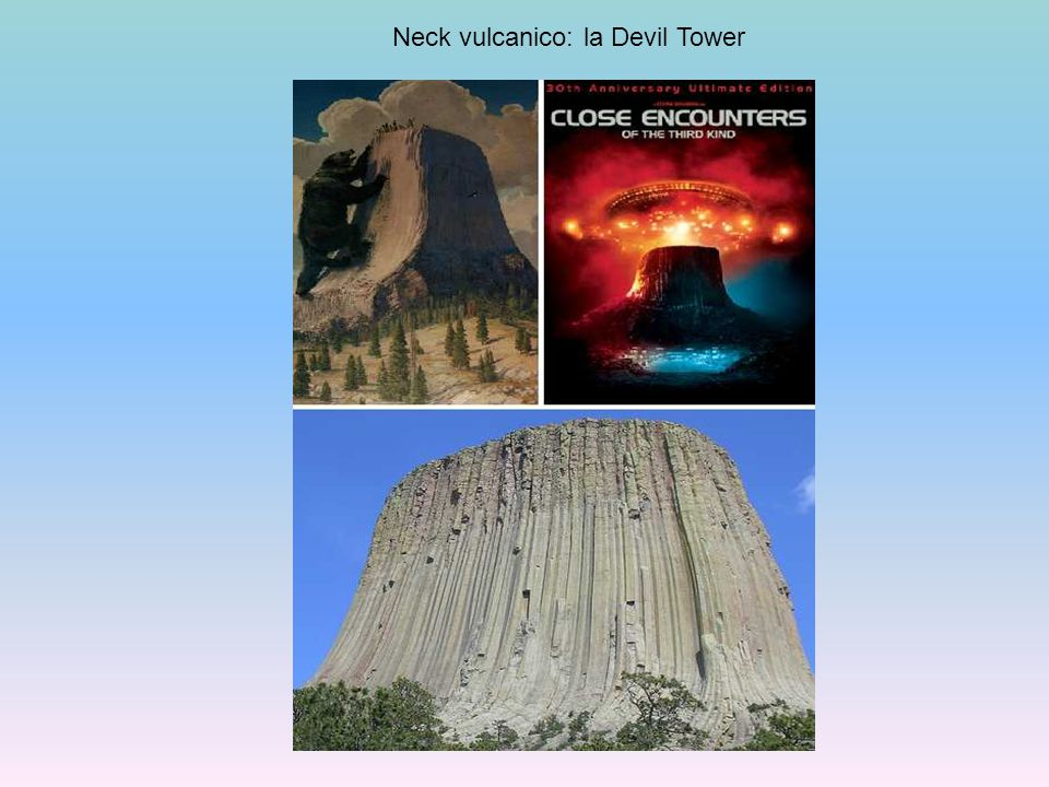 Neck vulcanico: la Devil Tower