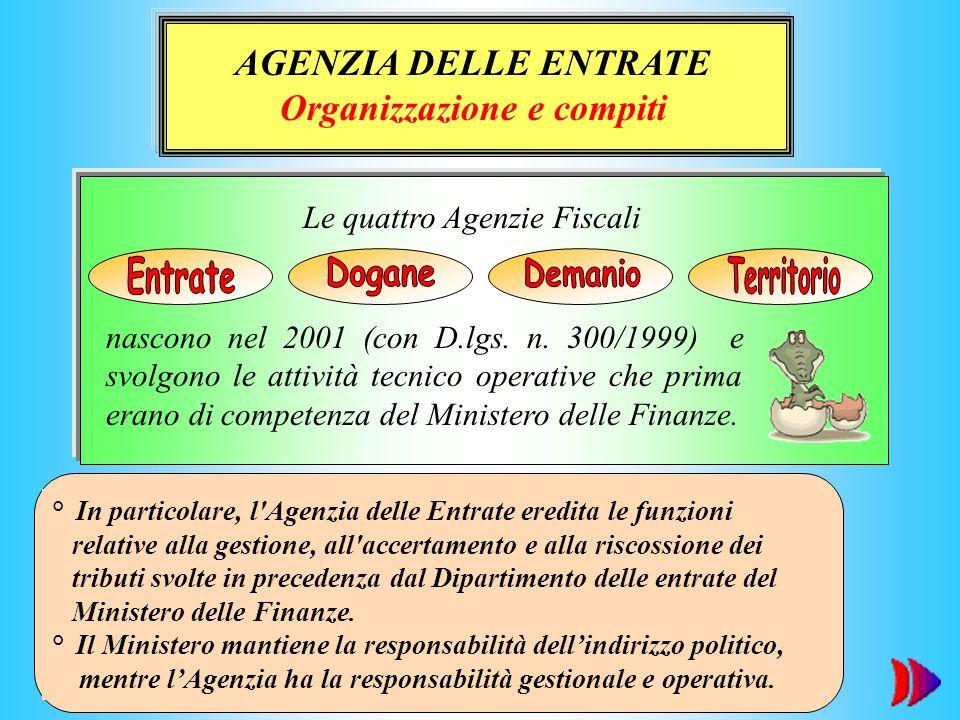 Organizzazione e compiti