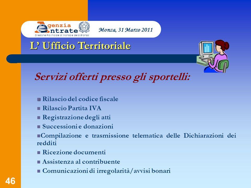 L' Ufficio Territoriale