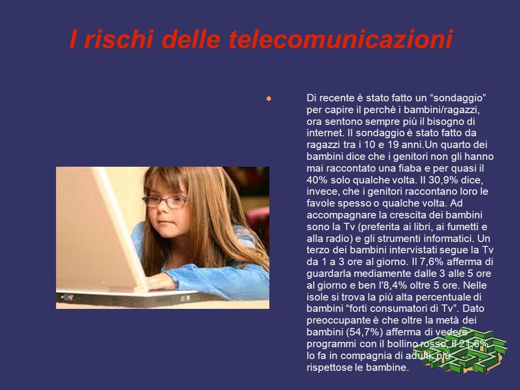 I rischi delle telecomunicazioni