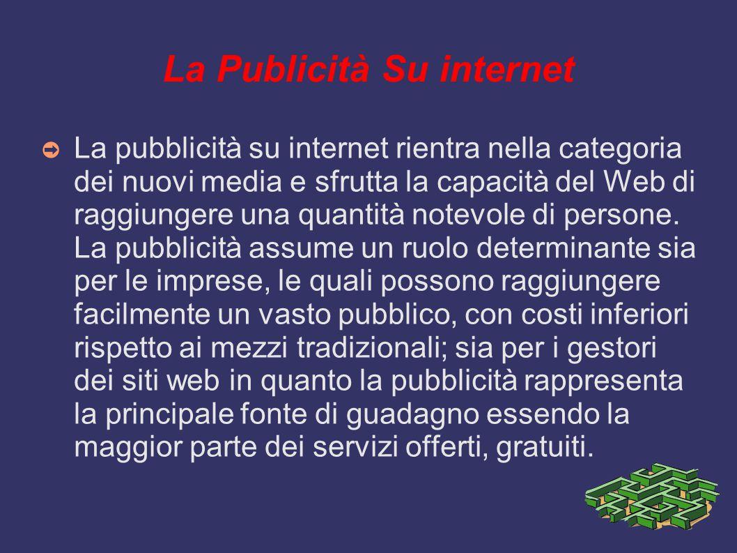 La Publicità Su internet