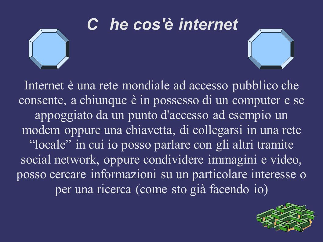 C he cos è internet