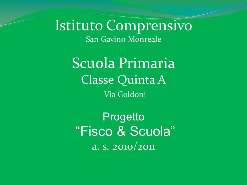 Istituto Comprensivo Scuola Primaria Fisco & Scuola Classe Quinta A