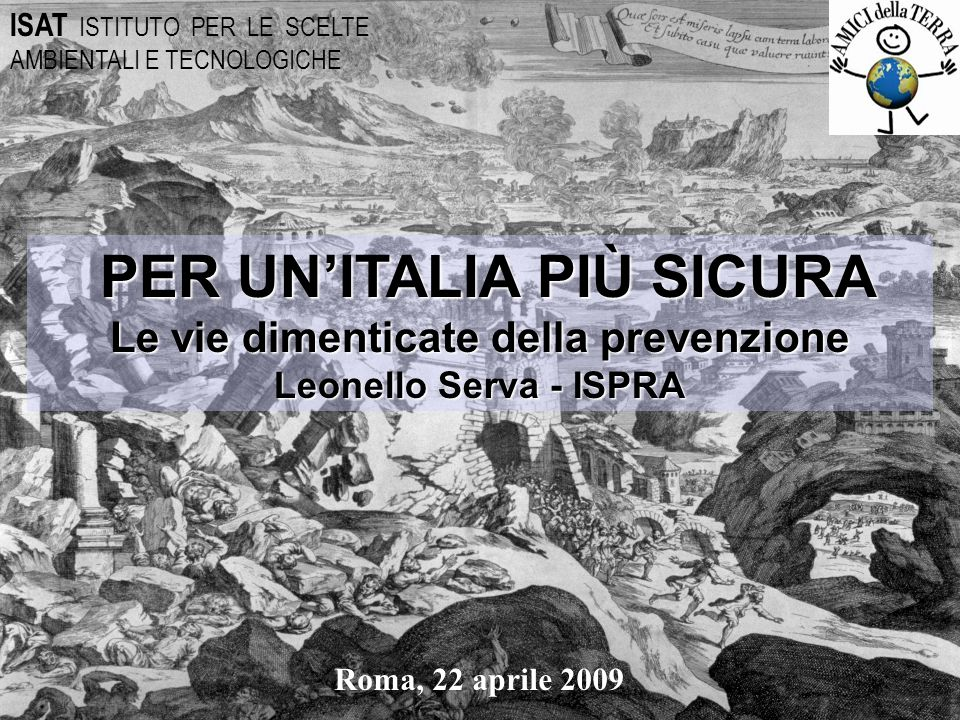 PER UN'ITALIA PIÙ SICURA