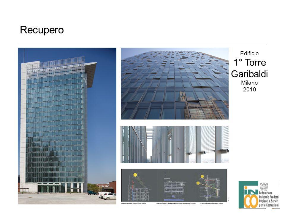 Recupero Edificio 1° Torre Garibaldi Milano 2010