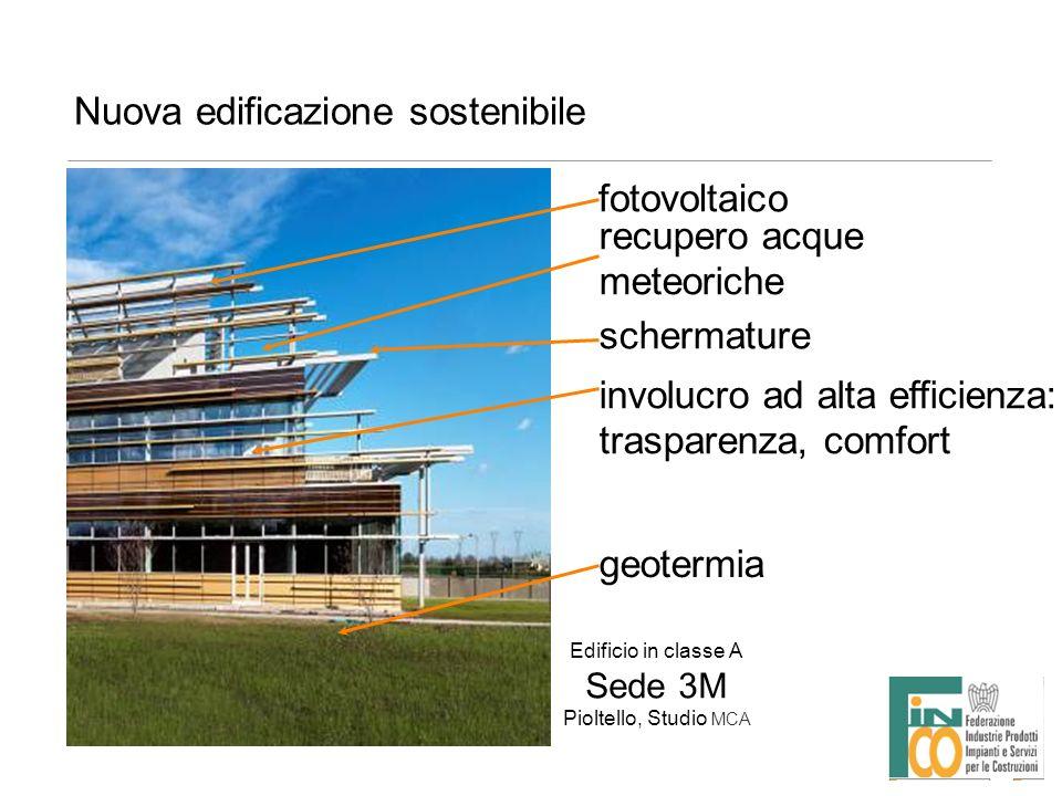Nuova edificazione sostenibile