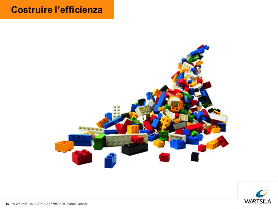 Costruire l'efficienza
