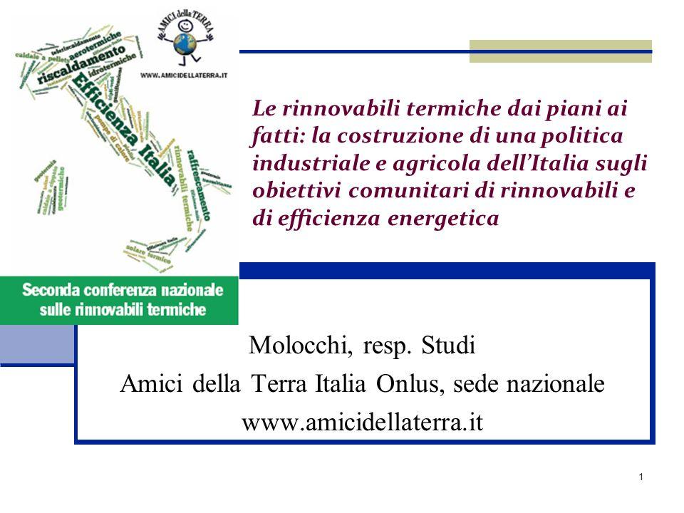 Amici della Terra Italia Onlus, sede nazionale