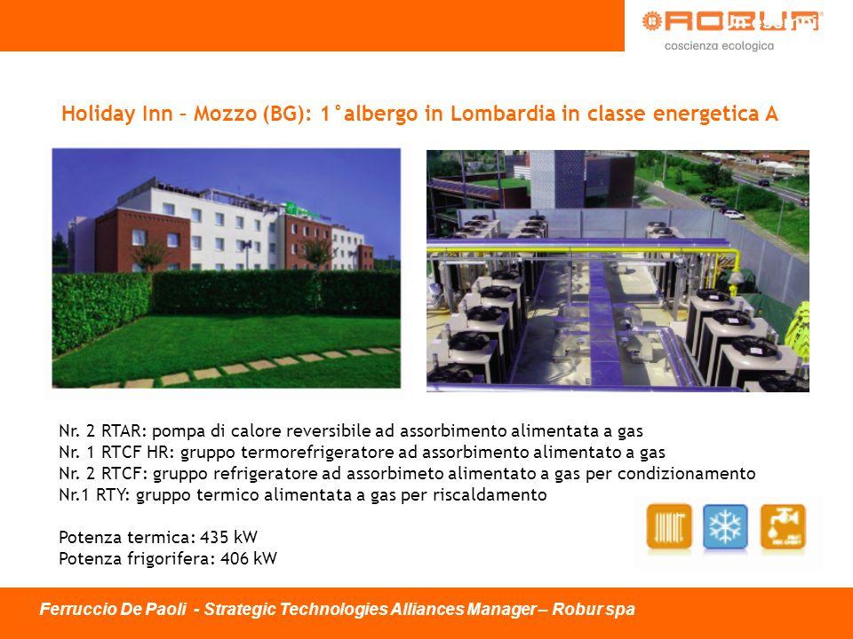 Un esempio Holiday Inn – Mozzo (BG): 1°albergo in Lombardia in classe energetica A.