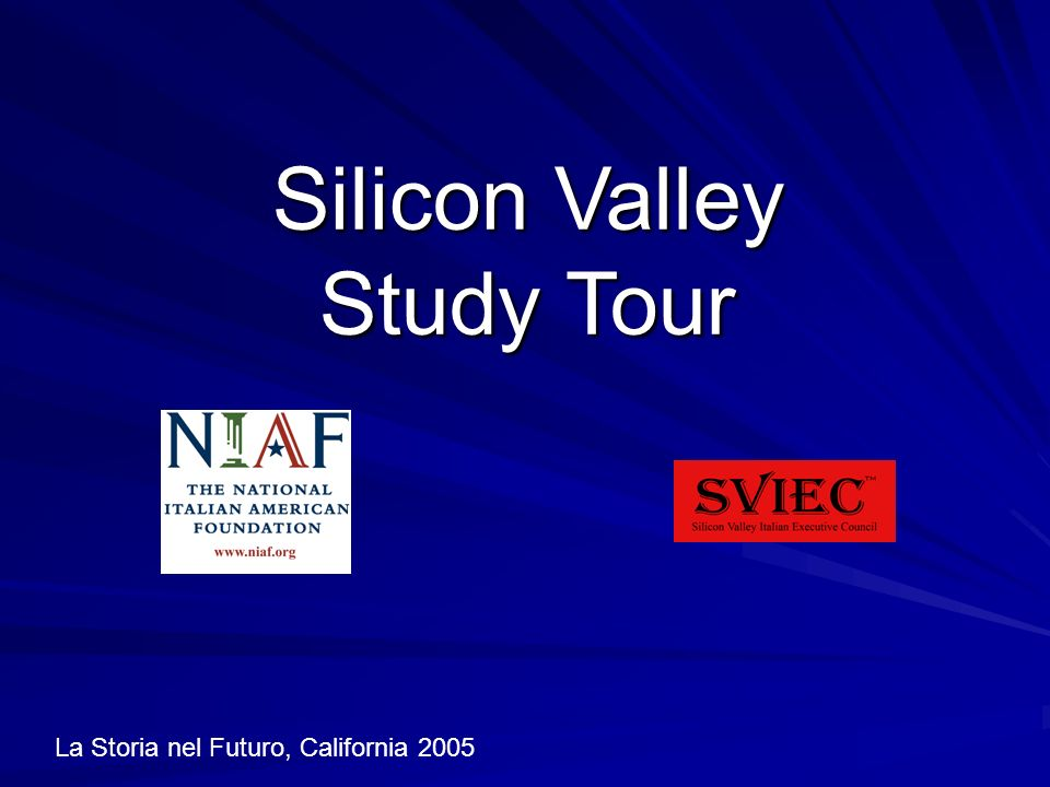 Silicon Valley Study Tour