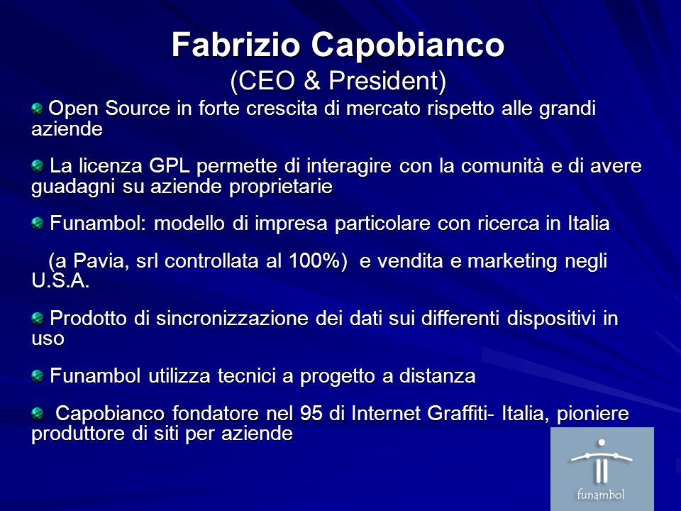Fabrizio Capobianco (CEO & President)
