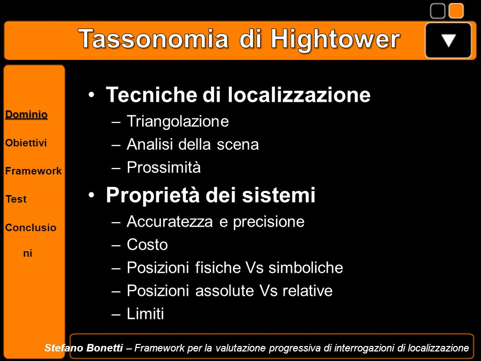 Tassonomia di Hightower