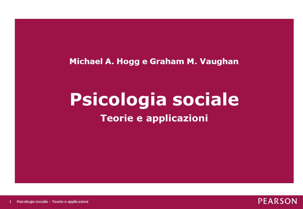 Michael A. Hogg e Graham M. Vaughan