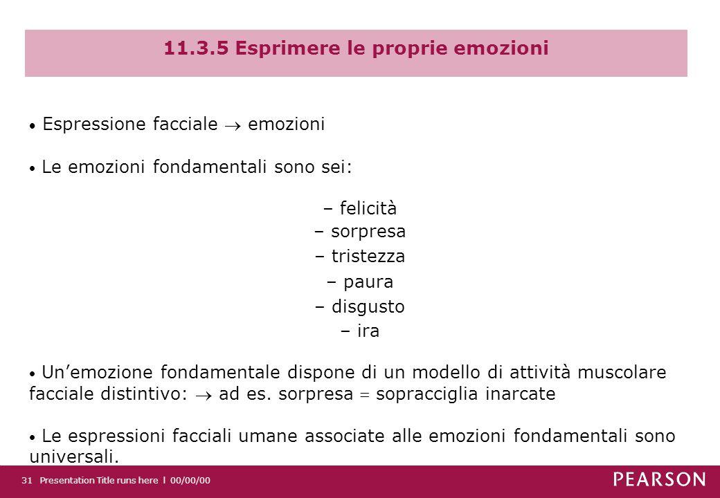 11.3.5 Esprimere le proprie emozioni