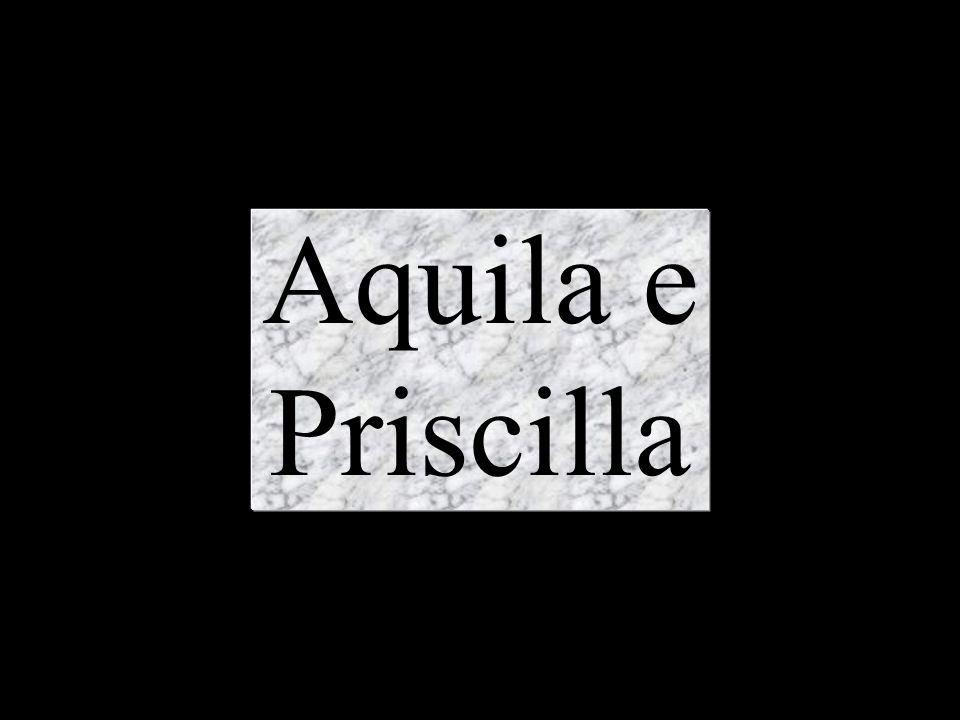 Aquila e Priscilla
