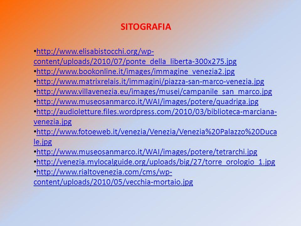 SITOGRAFIA http://www.elisabistocchi.org/wp-content/uploads/2010/07/ponte_della_liberta-300x275.jpg.