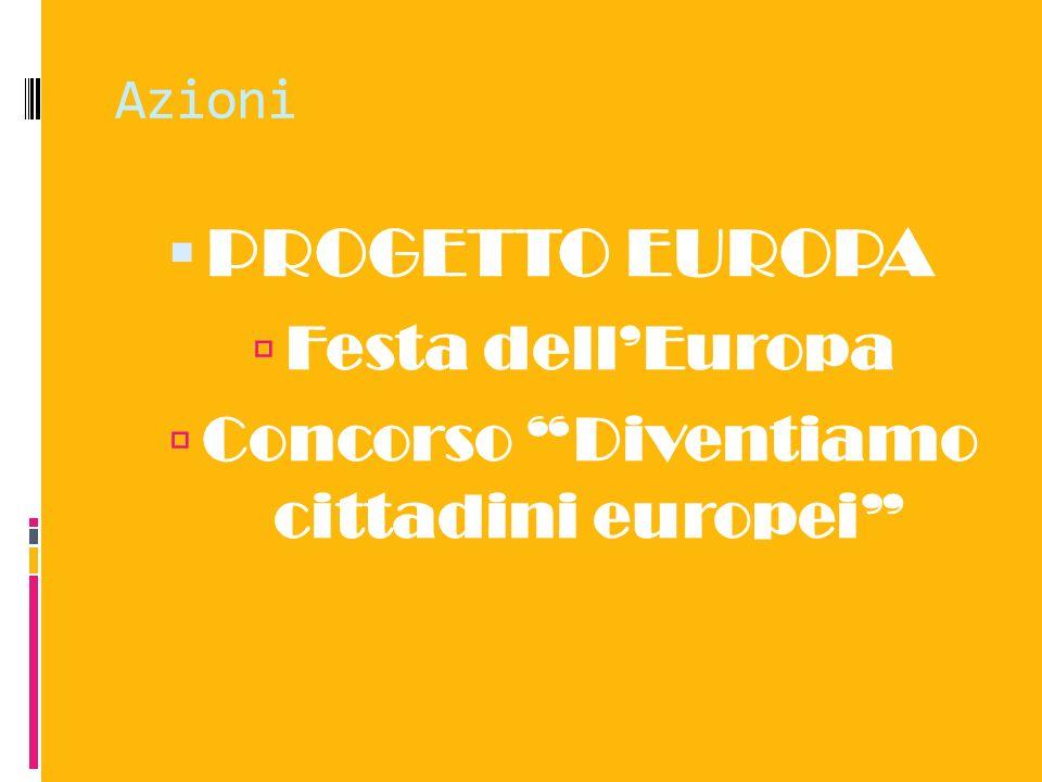 Concorso Diventiamo cittadini europei