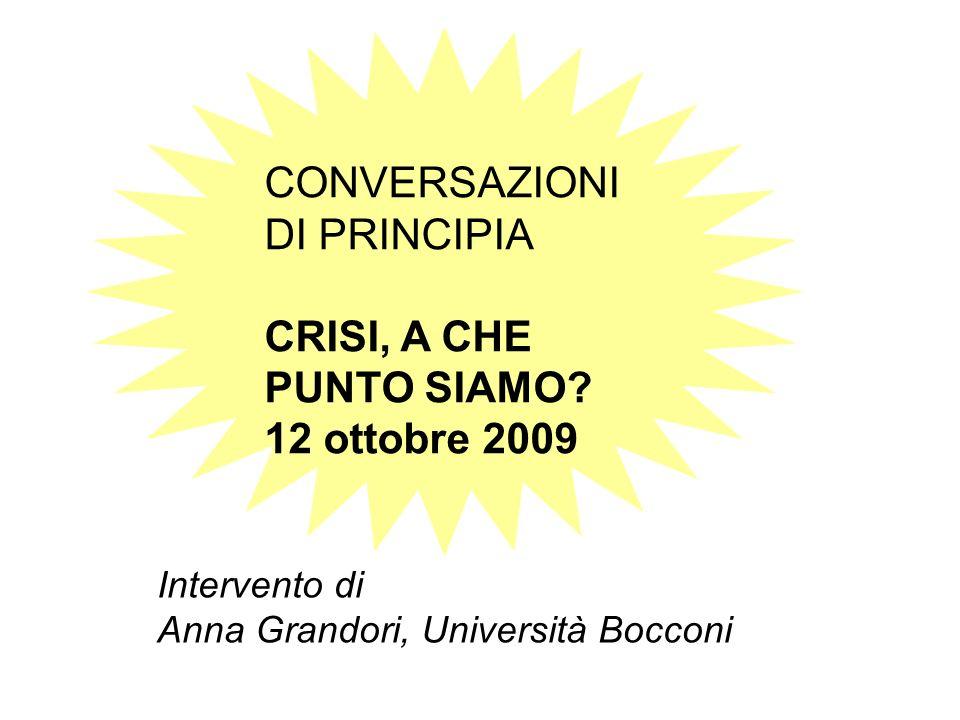 Intervento di Anna Grandori, Università Bocconi