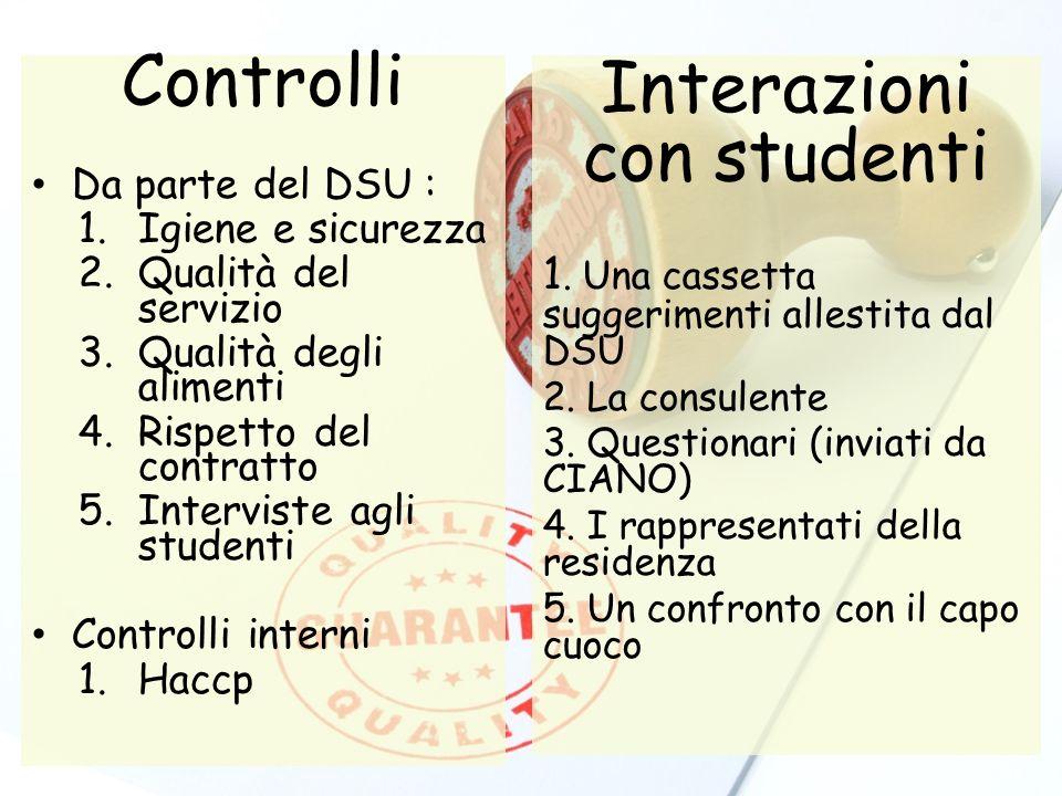 Interazioni con studenti