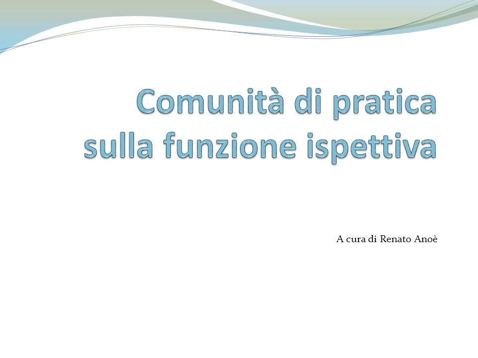 Comunità di pratica sulla funzione ispettiva