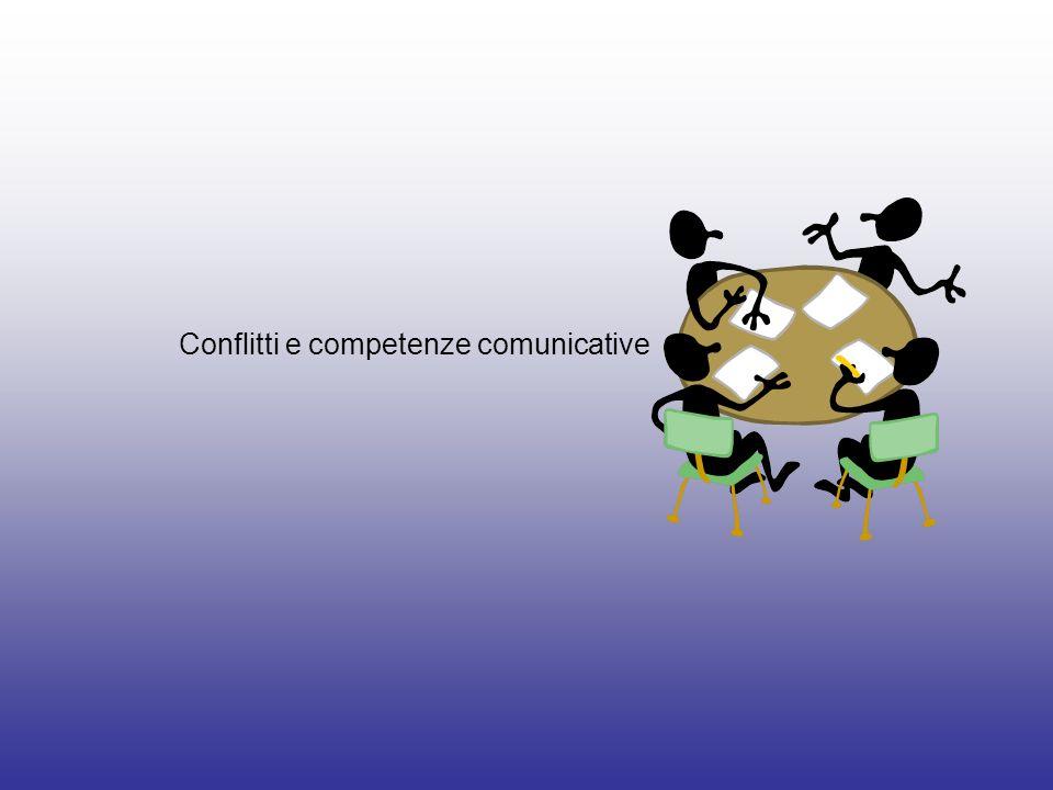 Conflitti e competenze comunicative