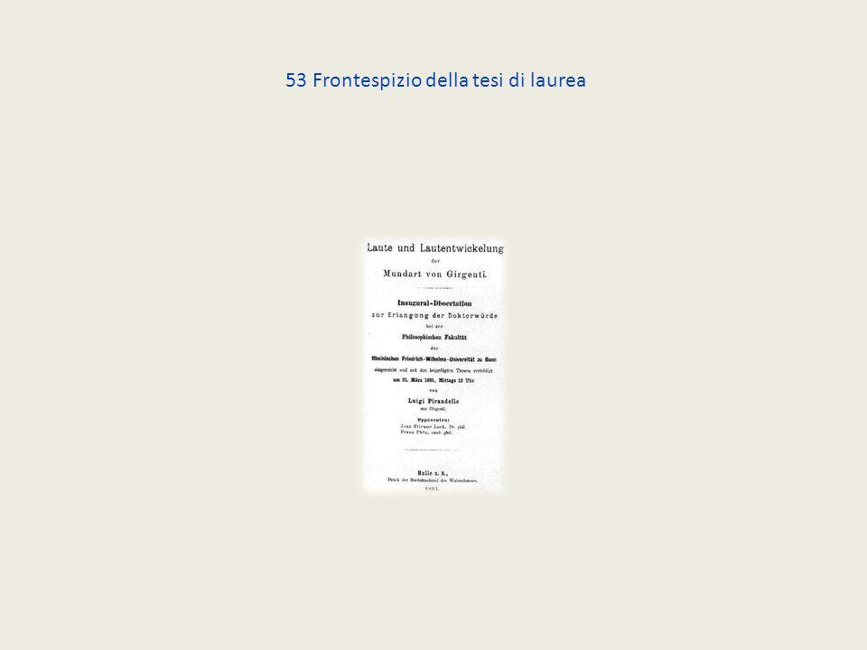 53 Frontespizio della tesi di laurea
