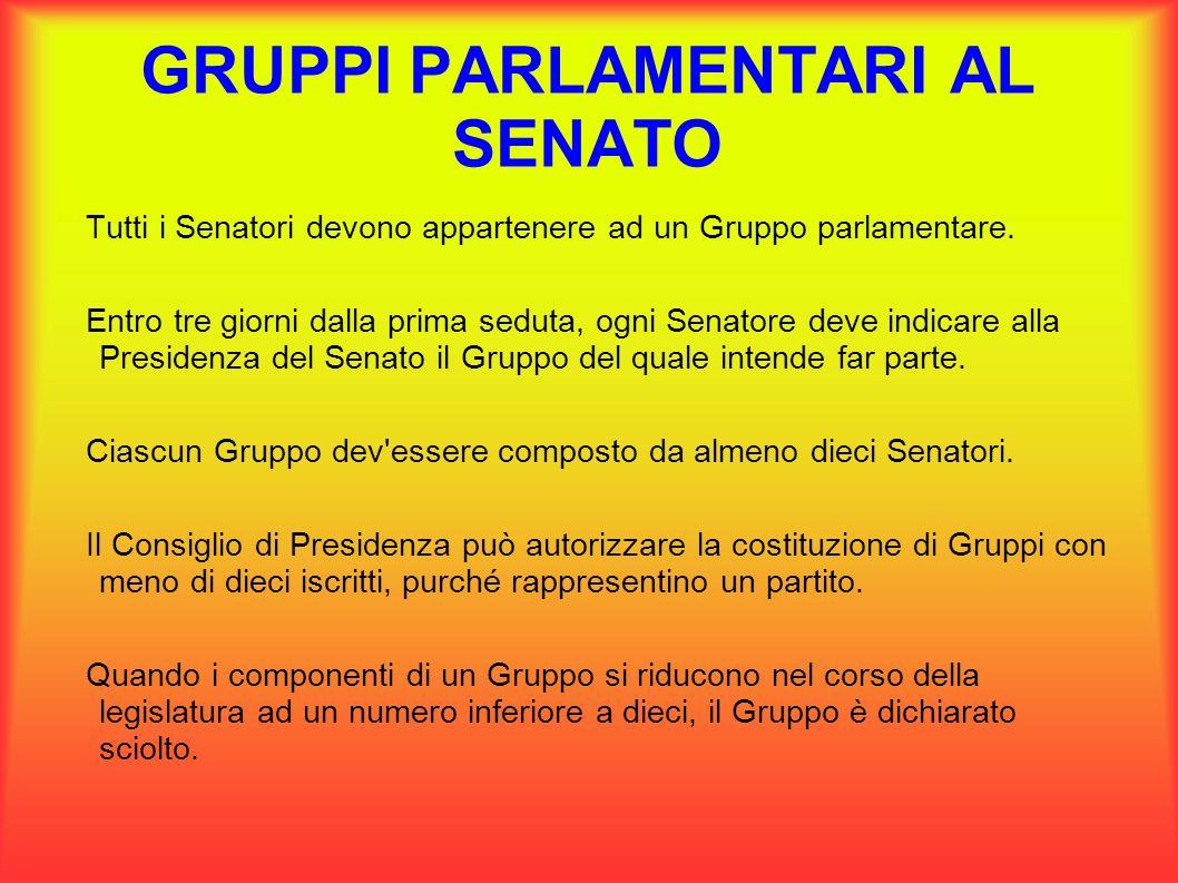 Gruppi parlamentari tutti i deputati e i senatori devono for Composizione del parlamento italiano oggi