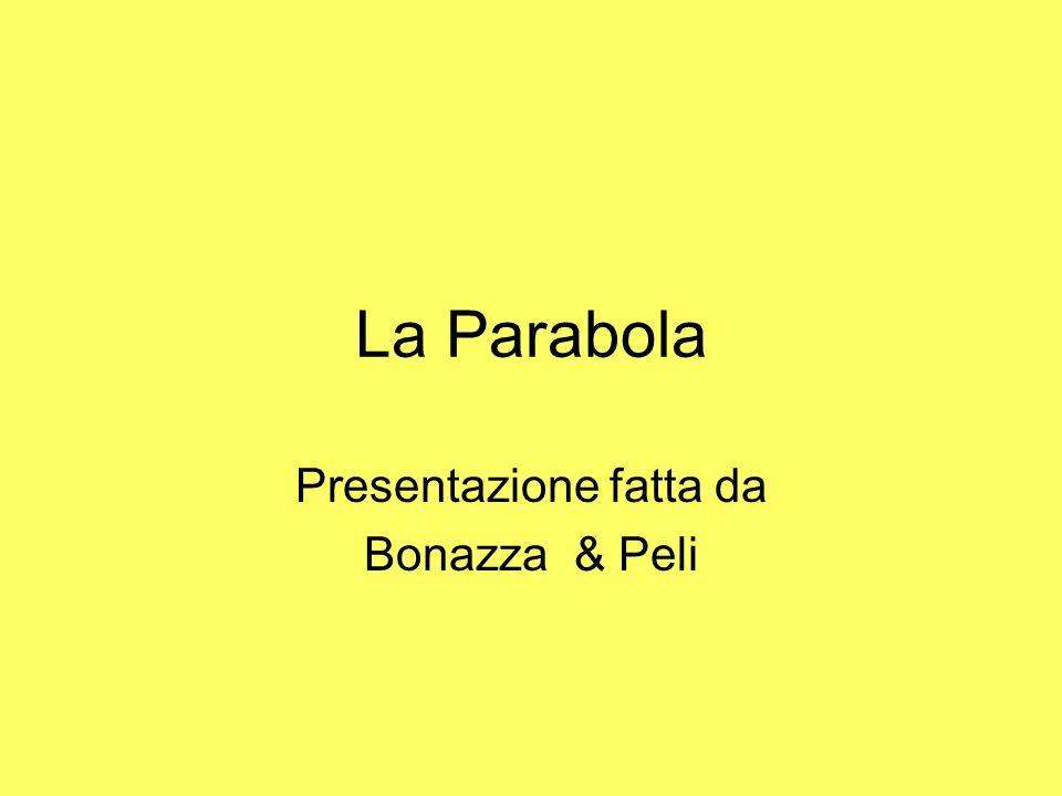 Presentazione fatta da Bonazza & Peli