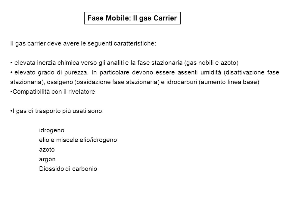 Fase Mobile: Il gas Carrier