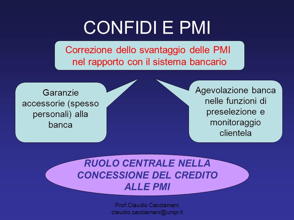CONCESSIONE DEL CREDITO