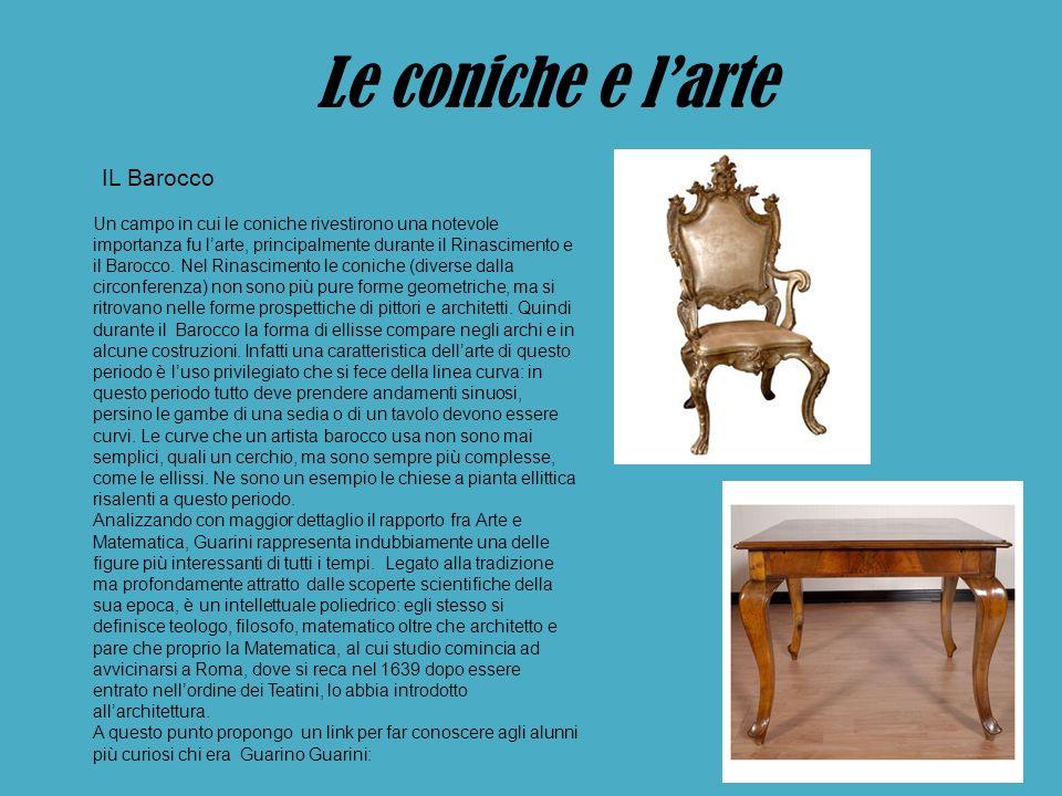 Le coniche e l'arte IL Barocco