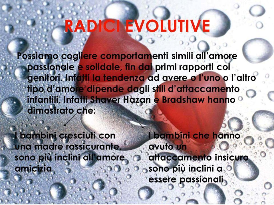 RADICI EVOLUTIVE