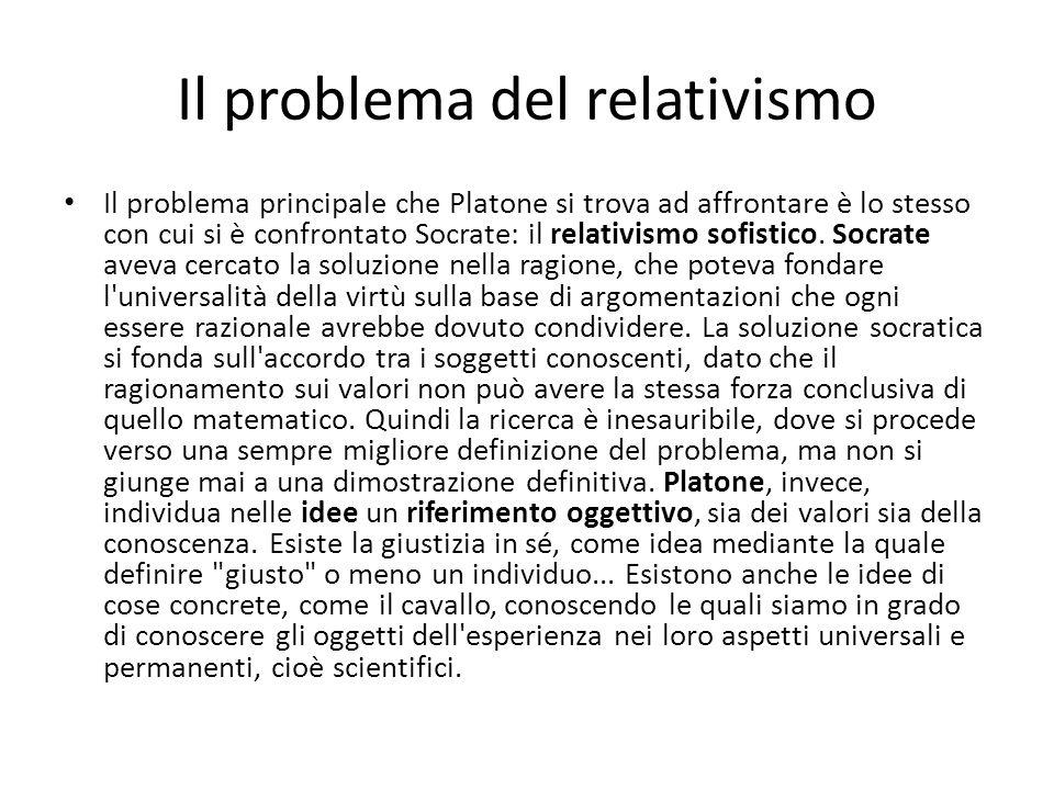 Il problema del relativismo
