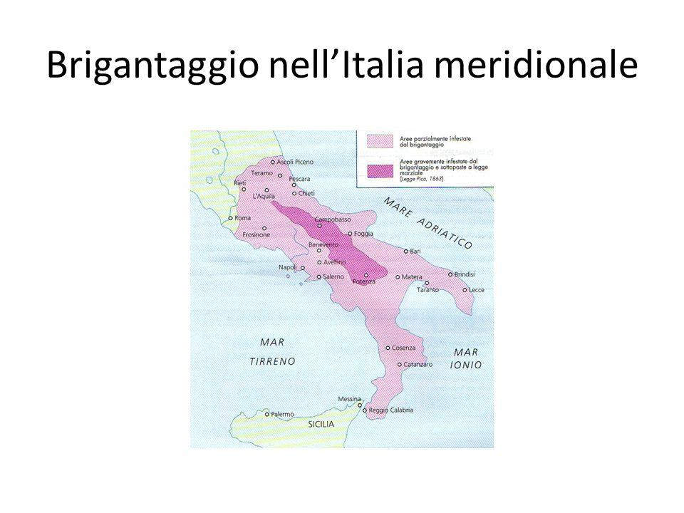 Brigantaggio nell'Italia meridionale